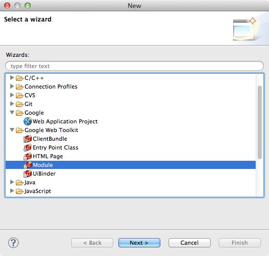 GWT-Exporterを使用するための設定