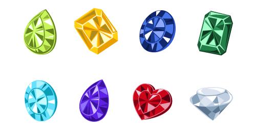 意外に難しくない!宝石を描くコツ(illustrator)