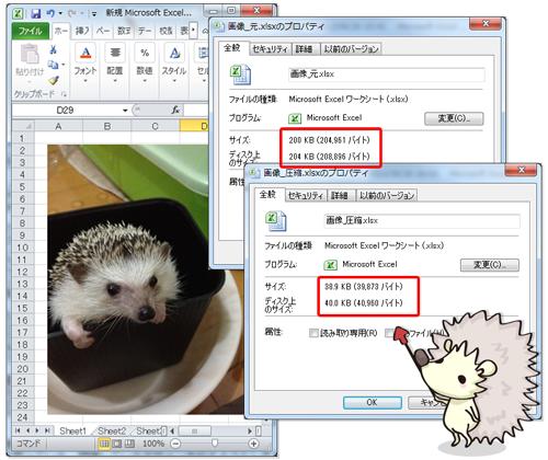 画像ファイルの容量を軽減