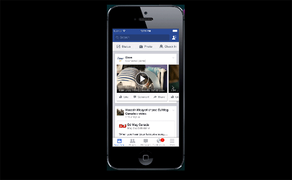 Facebook プレミアムビデオ広告