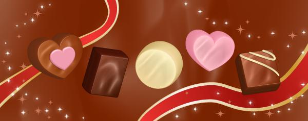 チョコレートの描き方