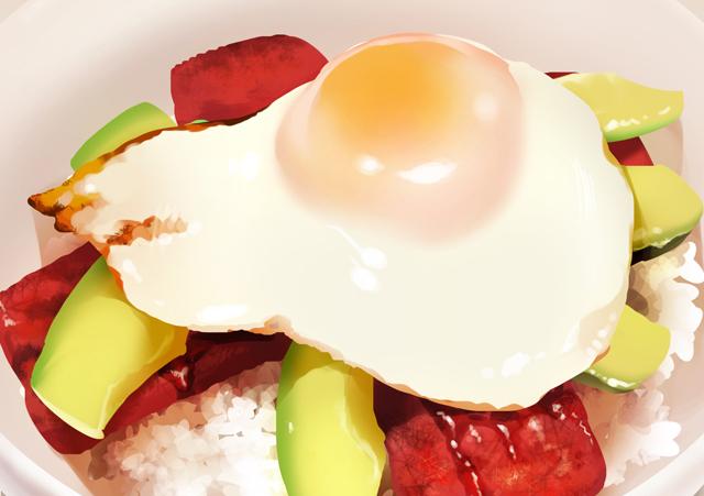 これであなたも飯テロイラスト描き簡単食べ物イラストの描き方