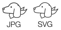 jpgとsvg比較(実寸表示)