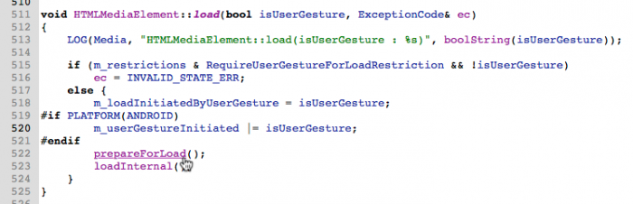 HTMLMediaElement::load