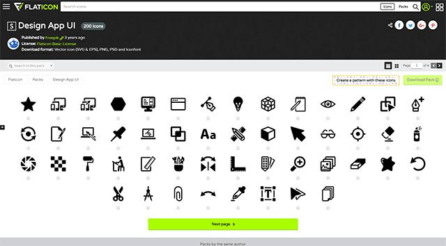 Design App UI 200 icons