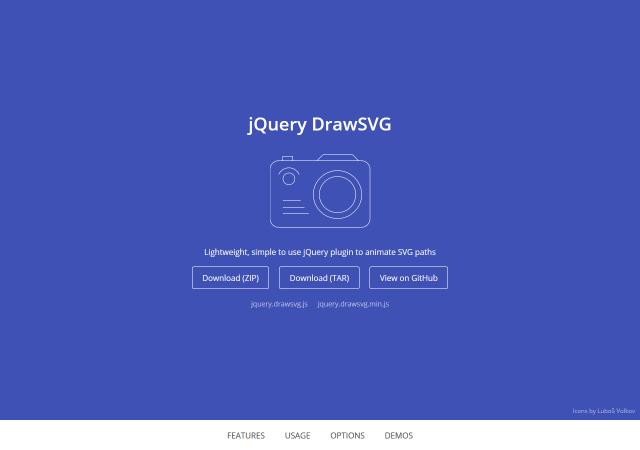SVGでアニメーションするjQuery DrawSVG