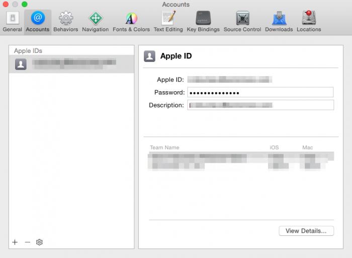 Apple IDの追加