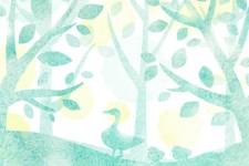 【Photoshop】テクスチャとブラシを使って水彩タッチのイラストを描いてみよう!