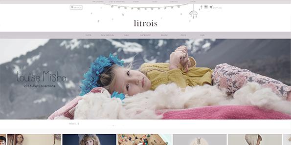 ラインテイストのアイコンがとてもかわいいサイト