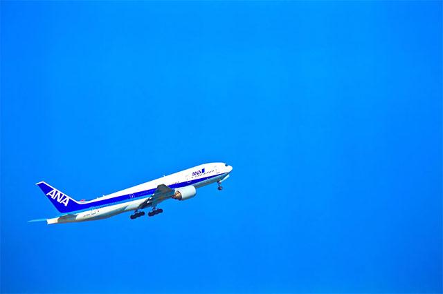 飛行機で島根県松江市へ求人活動