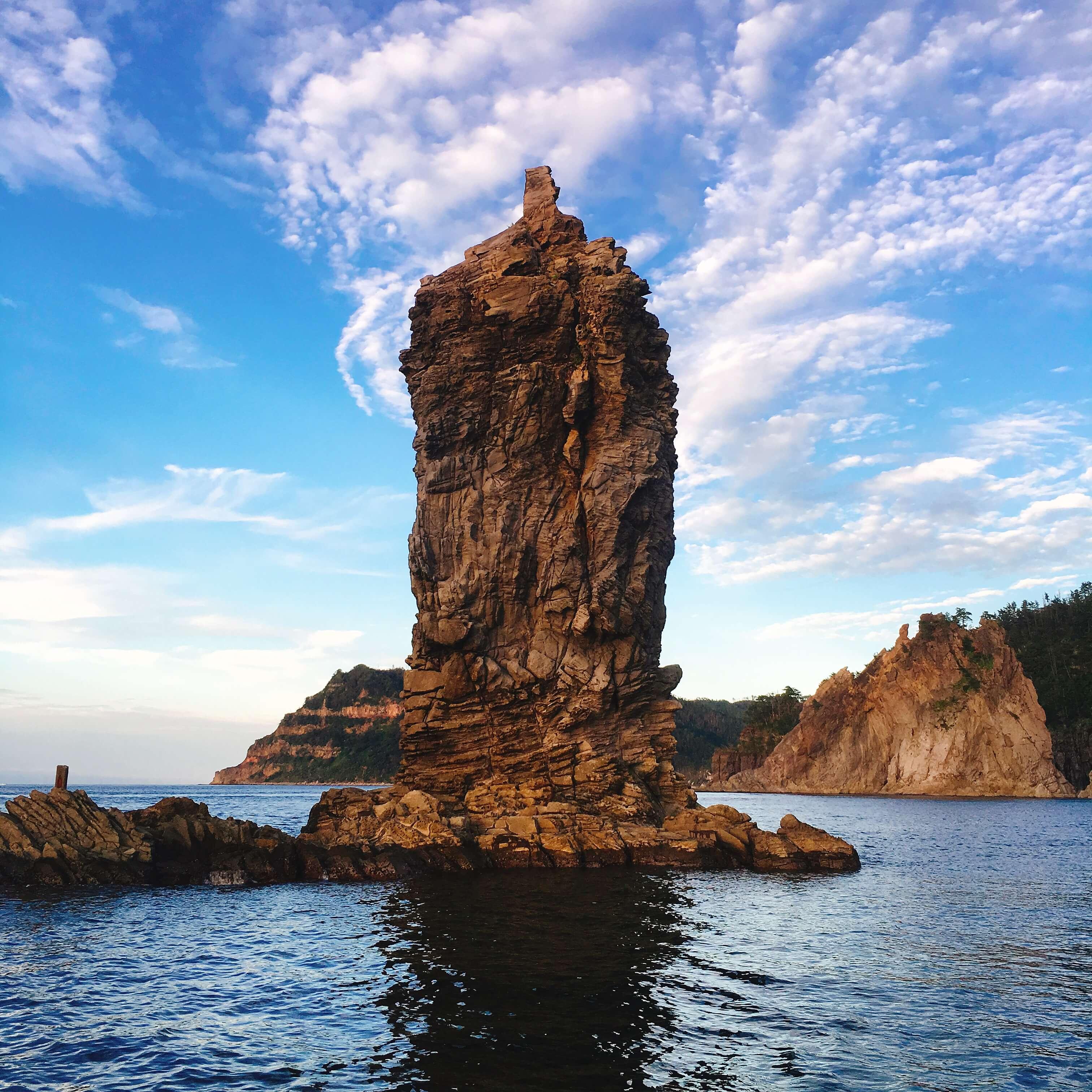島根の観光名所ロウソク島