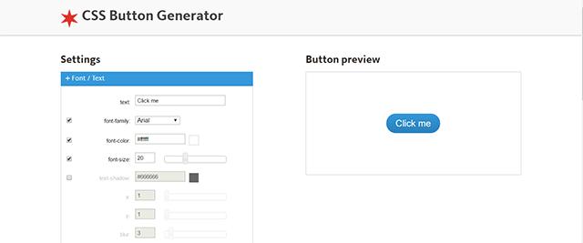 css button genarator