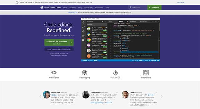 おすすめHTMLエディタ Visual Studio Code