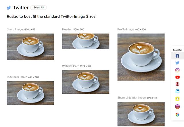 Twitter用画像サイズ