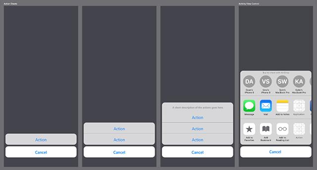 AppleのiPhoneやmacOs用UI Kit