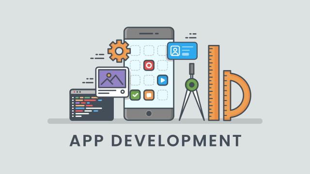 アプリ開発のイラスト