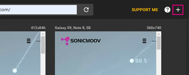 Responsive Viewerで新画面サイズを追加