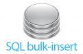 19万件のsqlレコードをバルクインサート形式に整形して追加するtips